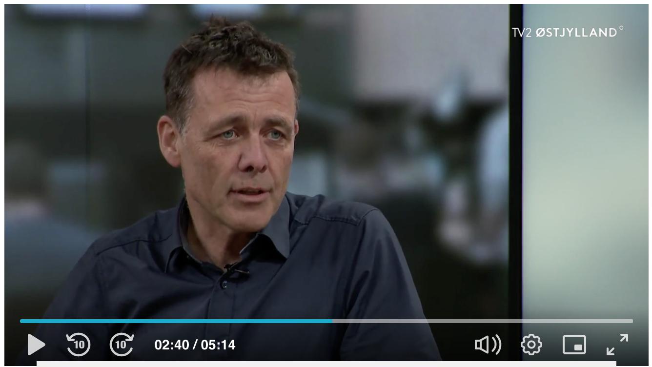 Carsten Obel i TV2 Østjylland